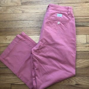 Vineyard Vines Pink Club Pants 30